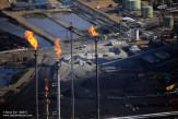 Flares at a Fort McMurray tar sands upgrader.