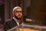 Sheik Faiyaz Jaffer of NYU gave the invocation.