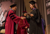 Vita Wang received her degree in architecture from Trustee Robert Tan.