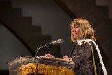 Sacha Pfeiffer, Pulitzer Prize-winning journalist, addressed the Class of 2017.