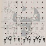 Bernard Tschumi, Study for the folio 'La Case Vide, La Villette,' #3 from the K Series, 1985
