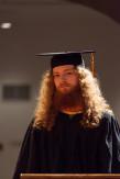 Nicholas Avrutin EE'14 awaits his diploma