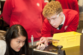 La Salle student learns about motors and torque