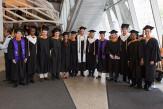 Members of the Albert Nerken School of Engineering graduating class of 2015