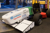 The 2017 Formula One FSE car from the motor sports team