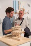 Dashil Chrisner A'18 in the Design !V Spring Semester showcase