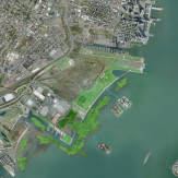 Communipaw Cove [Oyster Salt Marsh] | Floating Wetlands In Tidal Shallows