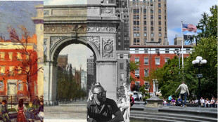 The City Transformed Part I Class Walking Tour NYC with Barry Lewis