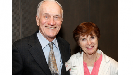 Dick Schwartz and his wife Ardath Marie