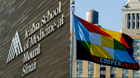 ISMMS & Cooper Union signage