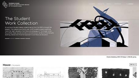Student Work Collection screenshot