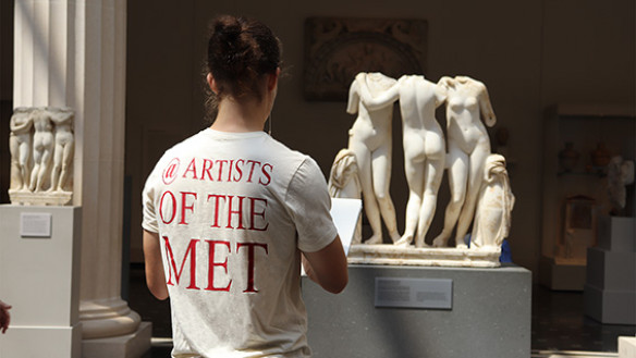 Sketching at the Met
