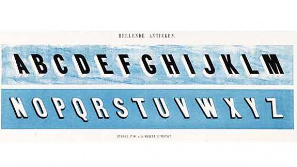 Dutch lettering books