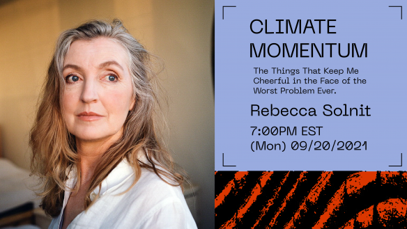 Solnit Climate Week