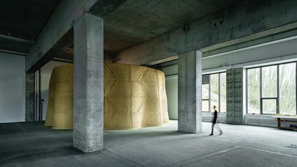 Clay Rotunda, 2020-2021(c) Gramazio Kohler Research, ETH Zürich. Photo: Michael Lyrenmann