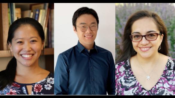"Left to right: Dr. Cynthia Lee, Dr. Ja-beom ""JB"" Koo, and Dr. Fabiola Barrios-Landeros"