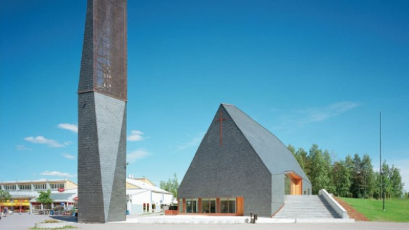 Kuokkala church, 2010, Lassila Hirvilammi Architects