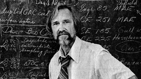 Professor John T. O'Connor in 1978, as Chair of Civil Engineering at the University of Missouri-Columbia.