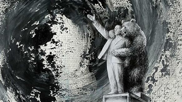 Detail of a work by Vitaly Komar. Image courtesy of Vitaly Komar