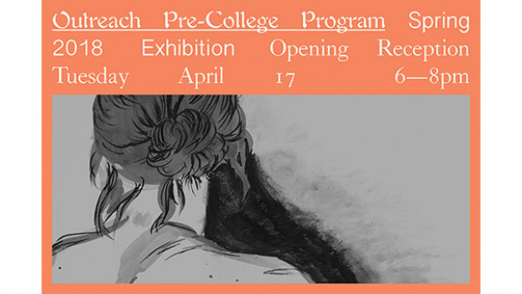 Outreach Pre-College Program Spring 2018 Card