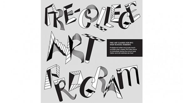 Pre-College Art Program poster
