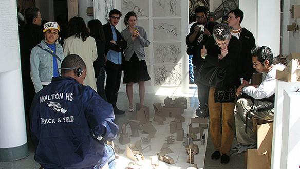 A scene from a previous Saturday Program Annual Exhibition