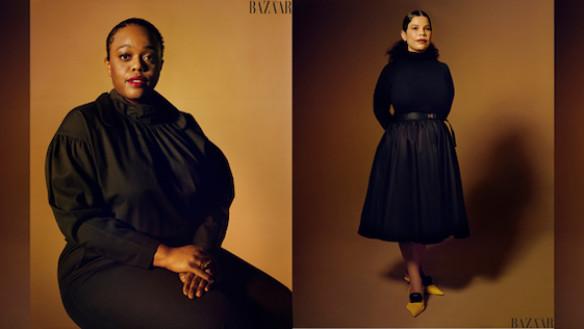 Portraits from March 2021 Harper's BAZAAR. Photographer: John Edmonds. Styling by: Miguel Enamorado.