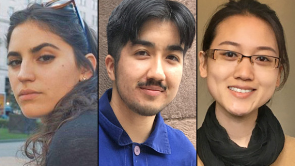 Miryea Fabregas, Parker Limon, Zhenni Zhu