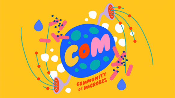 Community of Microbes poster