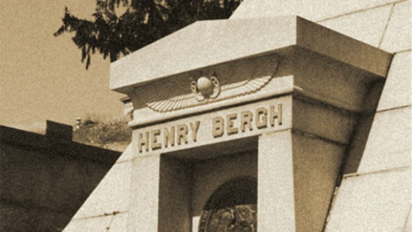 Henry Bergh Mausoleum at the Green-Wood Cemetery. Brooklyn, New York 2013
