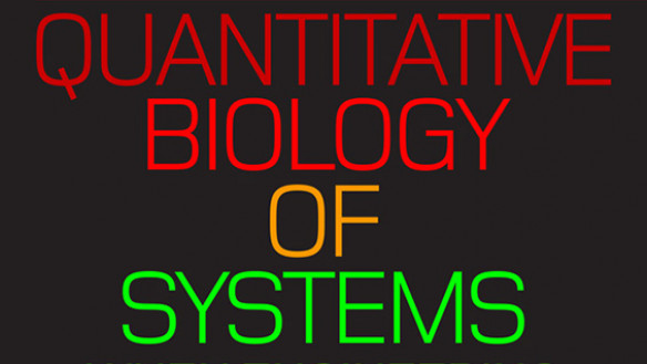 Quantitative Biology of Systems poster