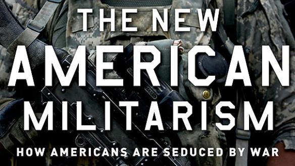 The New American Militarism book jacket detail