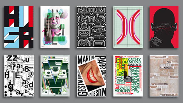 Selections from the Swiss Style Now exhibition