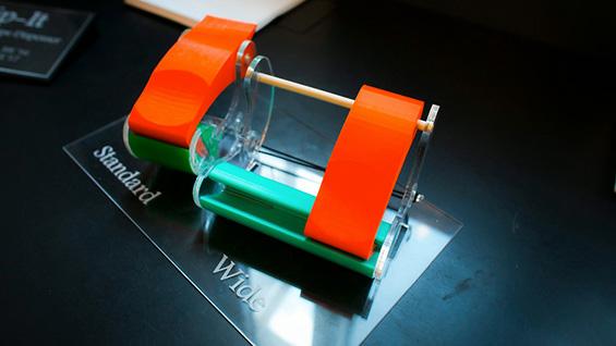 Kovalcin and Marshall's universal tape dispenser