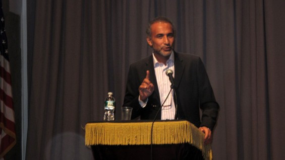 Tariq Ramadan at the Great Hall in 2012