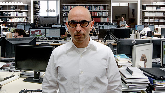 Nader Tehrani at NADAAA in June 2015. Photo courtesy of NADAAA