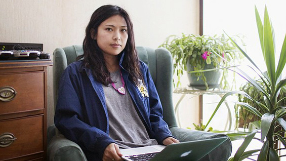 Tiffiniy Cheng at home. Photo by Kieran Kesner