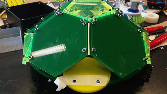 Turtlebot, the winning hack from 2014