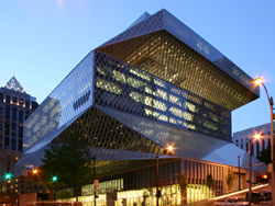 Seattle Central Library exterior