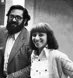 Manfredo Tafuri & Diana Agrest at IAUS in 1975