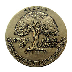 AIGA Medal (front)