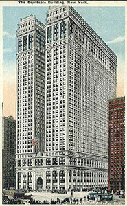 The Equitable Building in 1919