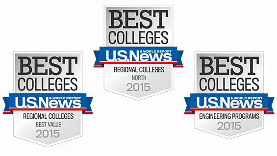 U.S. News Best Colleges badges