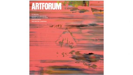 Artforum Cover